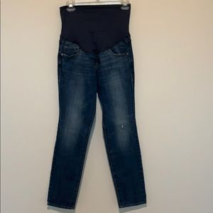 Old Navy Maternity full panel jeans! Worn once!